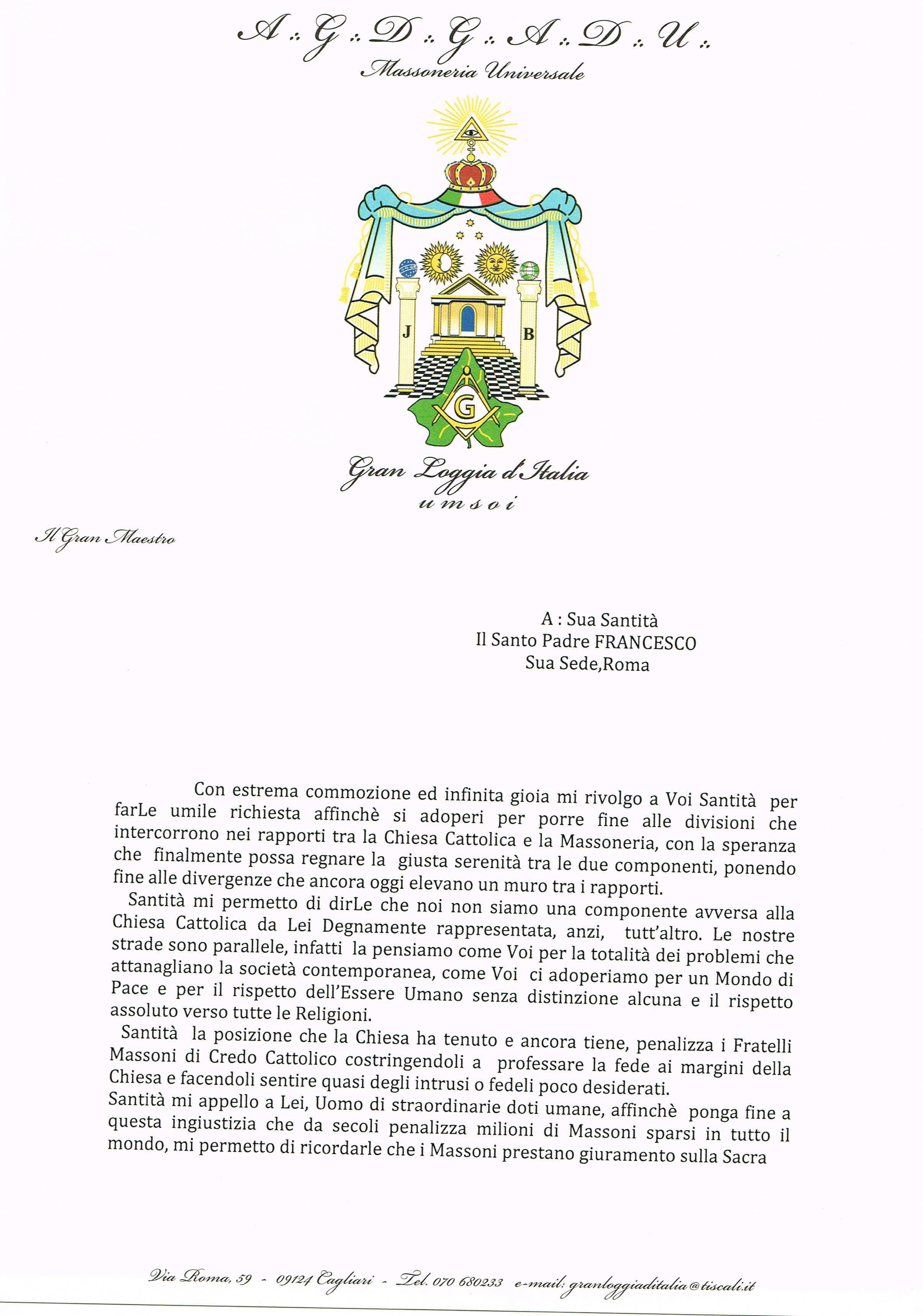 papa francesco sito