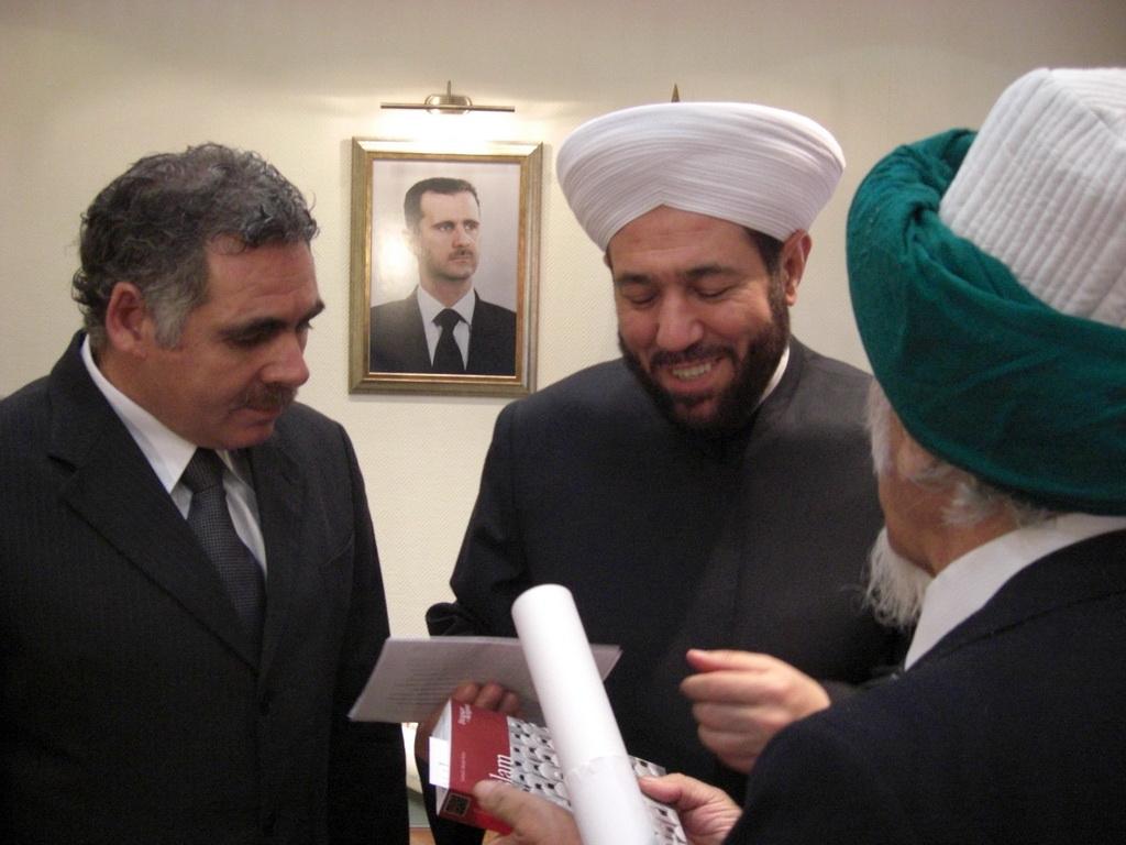 ¿Es la Guerra en Siria una batalla entre la Orden de los Jesuitas y el Gran Oriente de la Masonería? 350